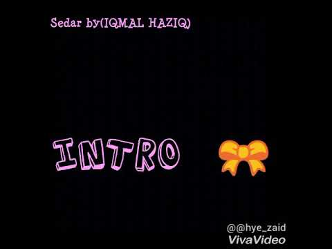 Sedar by Iqmal Haziq (Official Lirik)