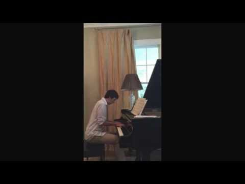 College Application Piano Portfolio