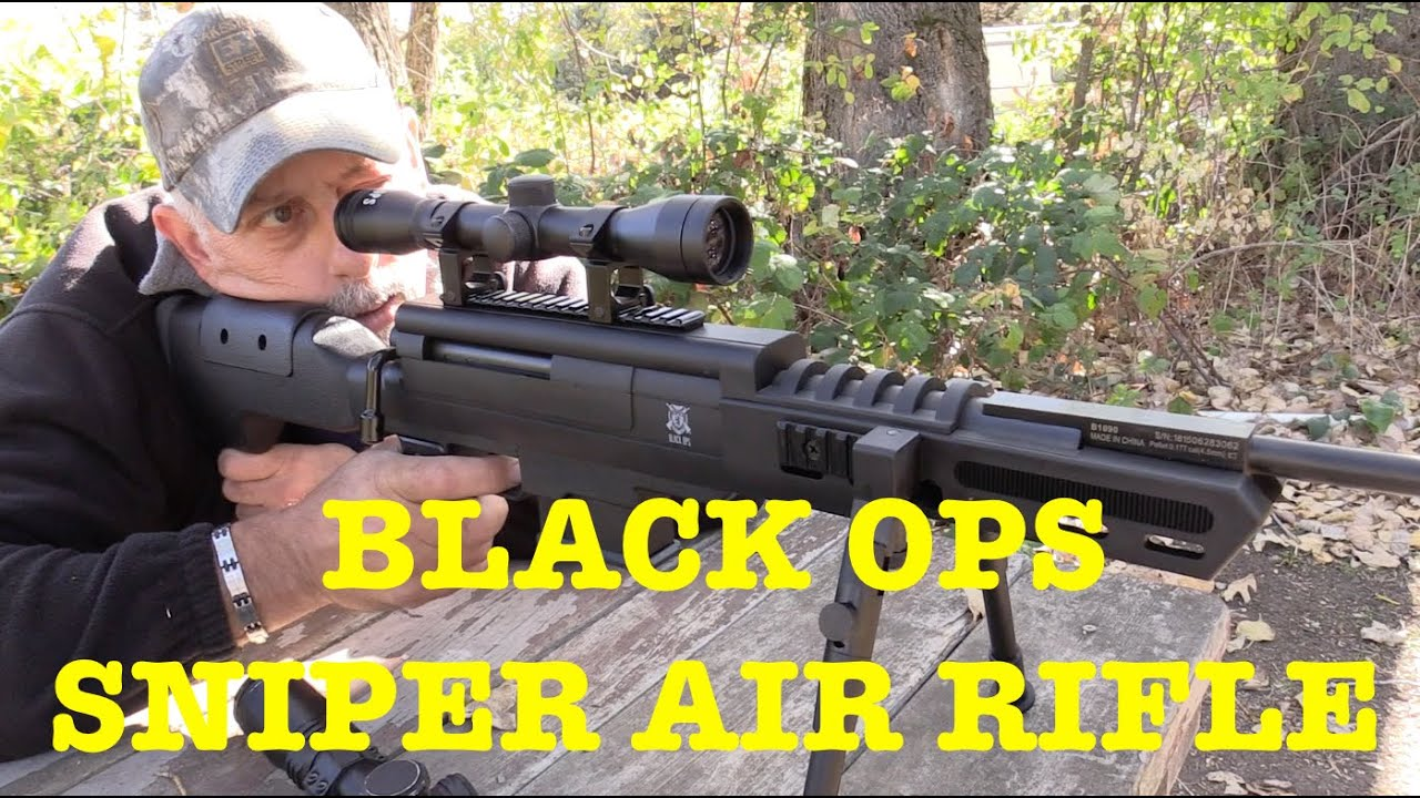 BLACK OPS Sniper Rifle - Air Rifle Review