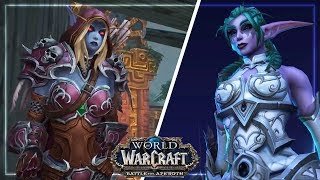 All BfA Patch 8.1 Cutscenes (12 So Far) - Battle for Azeroth