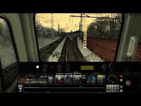 Chengdu-Chongqing Railway 2 CLASS 66 66517 (1 hour 34 minutes) Scenarios