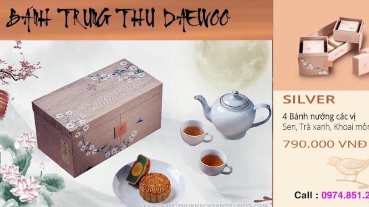 Bánh Trung Thu Khách Sạn Daewoo 2019   Silver