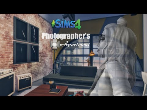 MOSCHINO • 📸 Photographer's Apartment | Loft Interior [No CC] THE SIMS 4