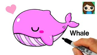 How to Draw a Whale  BTS Tiny TAN 'Dream ON'