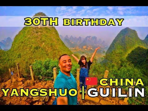 Yangshuo Guilin 30th Birthday | Li River | Bamboo Raft | Impressions Light Show