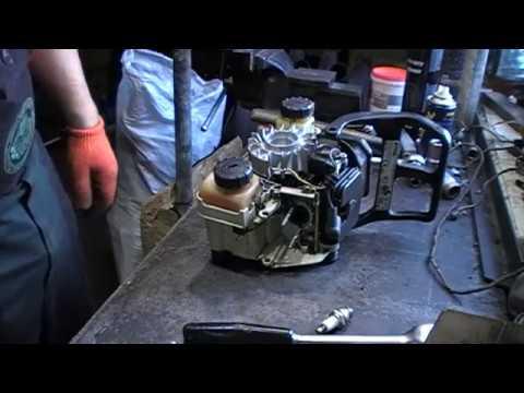 Как выставить зажигание на бензопиле штиль 180 видео