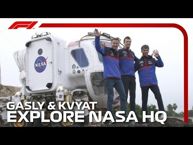 Gasly And Kvyat Explore NASA HQ | 2019 United States Grand Prix