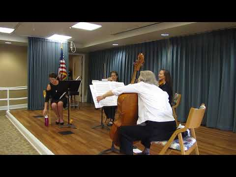 Mercer Island Baroque Orchestra - Mozart Quartet for Strings and Flute