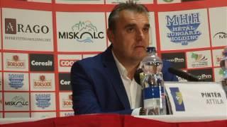 DVTK vs. Mezőkövesd 16/17 - Pintér Attila, boon.hu
