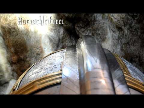 Sutton Hoo Helm Replik Hornschleiferei.de