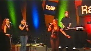 Natalia Calderón & Sace 2 - More (live) / tve2 conciertos radio 3 (2001)