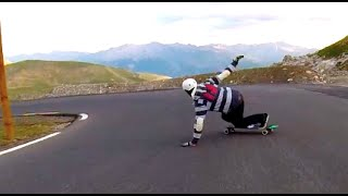 GT Downhill: Epic Longboarding in The Alps 2014