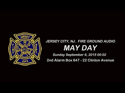 MAYDAY 2nd Alarm Box 647 22 Clinton Ave, Jersey City, NJ 09/06/15