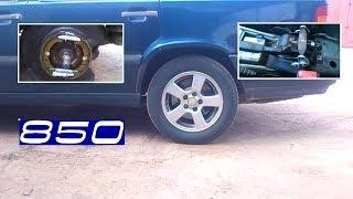 Делаем ручной тормоз Volvo 850