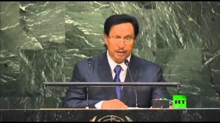 كلمة رئيس الوزراء الكويتي جابر مبارك الحمد الصباح أمام الجمعية العامة