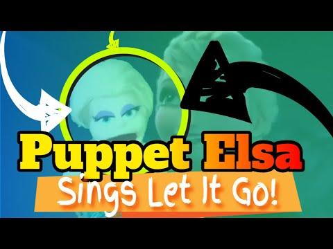 Frozen - Let It Go - Queen Elsa Puppet Cover