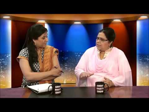 Amrit Bhatti Talk Show Sharda Priyaa 28 june 2014 DVD