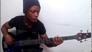 Seben congo avec aime nkanu nakobanga te bass guitar line by christian rush