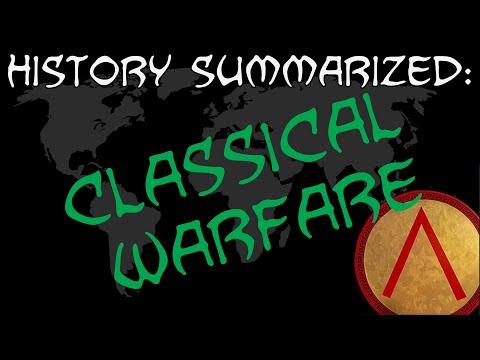 History Summarized: Classical Warfare (Feat. Shadiversity!)