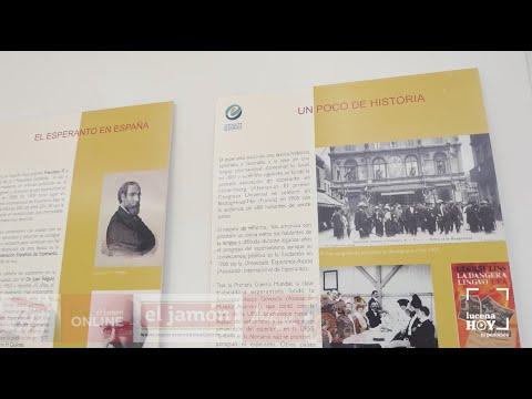 """VÍDEO: La Biblioteca Municipal de Lucena acoge una exposición sobre la lengua de """"El esperanto"""""""