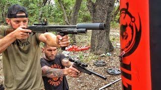 Download Frankengun vs Heavy Bag!!! Mp3 and Videos