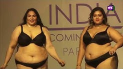 Plus Size Model Fashion Show 2019 | Ramp Walk  |  India