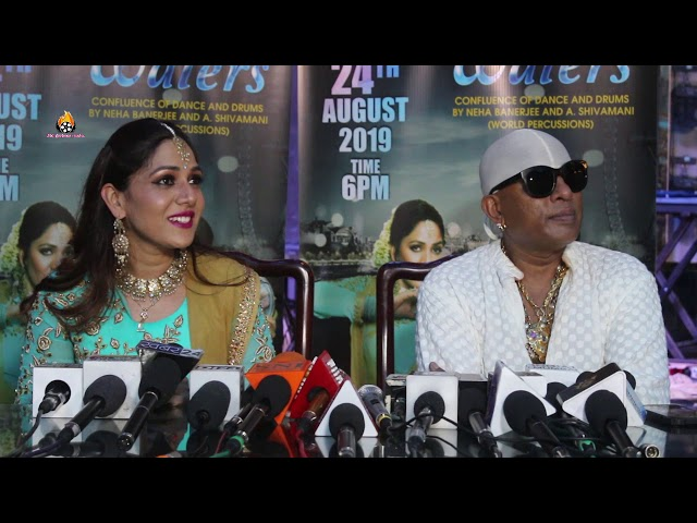 Announcement DANCING WATERS- Confluence of Dance & Drums l Neha Banerjee & Legendary A. Shivamani