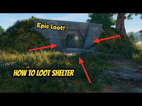 How to Loot Shelter! - PLAYERUNKNOWN'S BATTLEGROUNDS