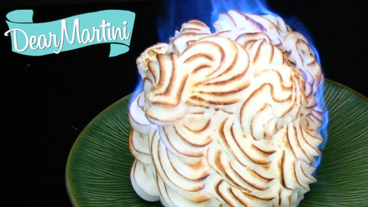 How To Make Baked Alaska Recipe Video Youtube