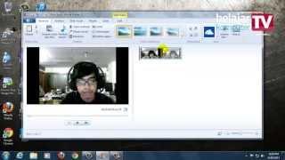 Merekam video melalui Webcam