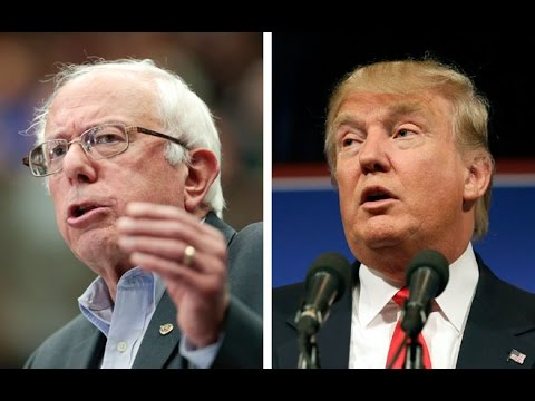 Trump & Bernie Dominate New Hampshire Primary