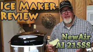 Ice Maker REVIEW NewAir 215SS