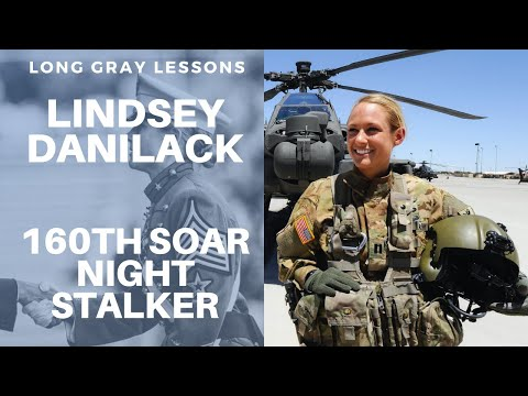 010 Long Gray Lessons with Former USMA First Captain and 160th SOAR Pilot: Lindsey Danilack