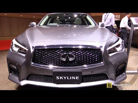 2016 Infiniti Skyline 350GT Hybrid ( Q50 ) - Exterior, Interior Walkaround - 2015 Tokyo Motor Show