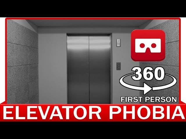 360° VR VIDEO - STUCK IN THE ELEVATOR! - CLAUSTROPHOBIA - VIRTUAL REALITY 3D
