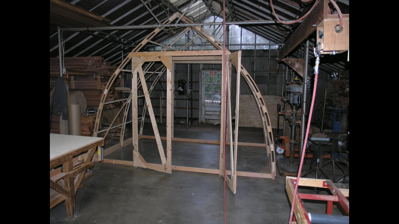 Build A 12 By 8 Gothic Arch Greenhouse For Less Than