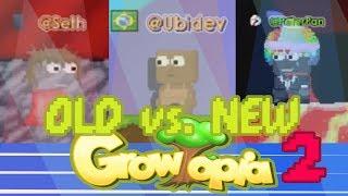 Old Growtopia vs. New Growtopia 2! @Seth? @Hamumu? | Growtopia