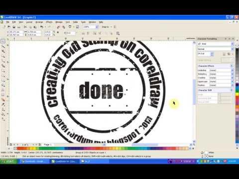 شرح تصميم ختم دائري برنامج رهيب لصنع الأختام بإحترافية كبيرة Youtube