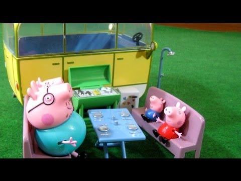 Peppa Pig Camper Van Playset Bandai - Juguetes de Peppa Pig