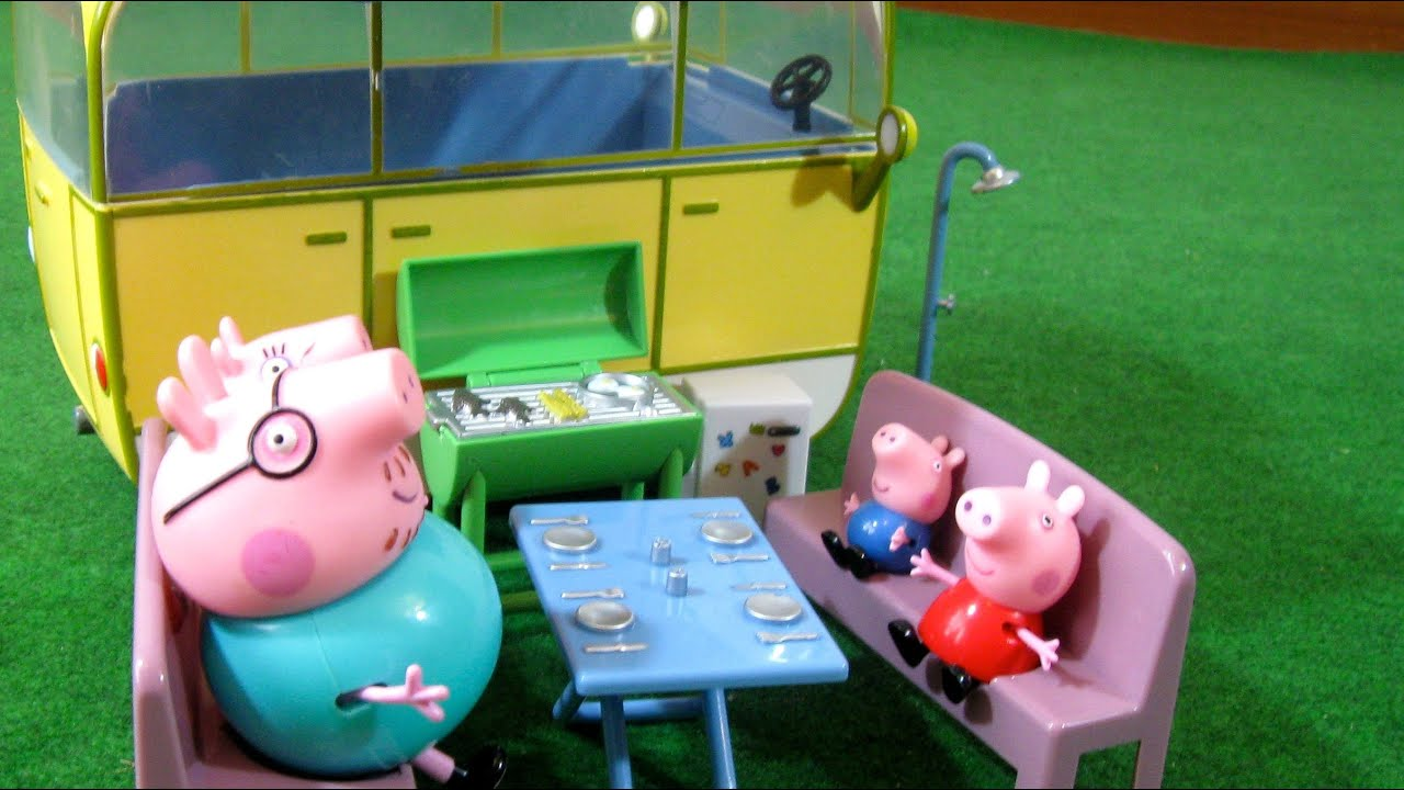 Peppa Pig Camper Van Playset from Bandai  YouTube