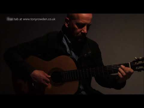 And I Love Her - FREE TAB Beatles Fingerstyle Solo