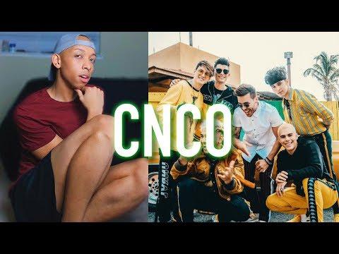 Reacting to CNCO Music Videos (Se Vuelve Loca, Díganle, Llegaste Tú, Hey DJ)