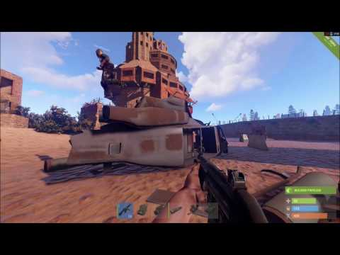 Rust: Downing the helicopter compilation and water graphics hack sneak peak