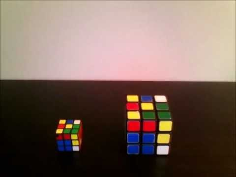 3x3 Rubik's buds- A stop motion film
