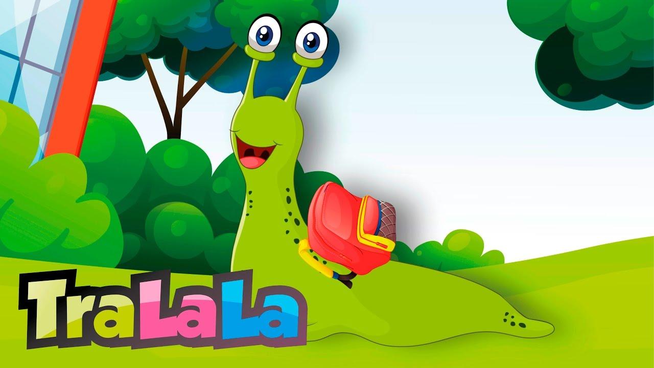 Melcul cu rucsăcel - Cântece pentru copii | TraLaLa