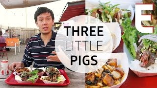 Chef-driven food from a trailer at three little pigs — dining on a dime