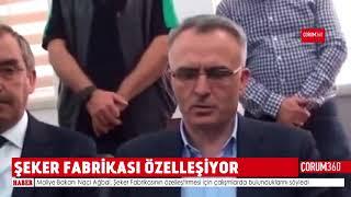 ŞEKER FABRİKASI ÖZELLEŞİYOR!