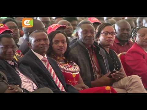 Kenyatta Meets Maasai Leaders