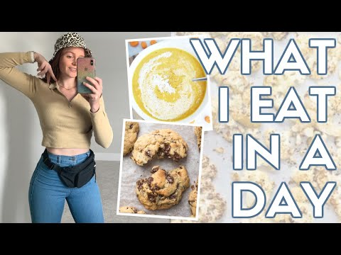 WHAT I realistically EAT IN A DAY (portion control + weight loss tips)