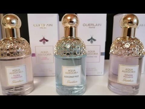 GUERLAIN AQUA Allegoria. 3 новых аромата.
